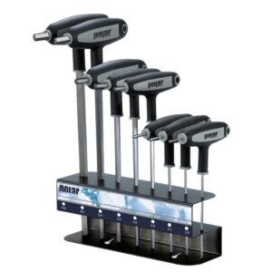 T-håndtag skruetrækkersæt – 6-kant