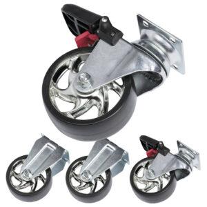 Sæt med 4 hjul