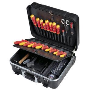 LIGHT kuffert med værktøjssæt – 83 dele