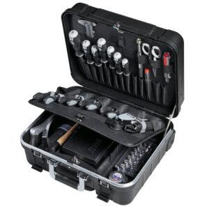 LIGHT kuffert med værktøjssæt – 136 dele