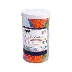 Kabelbinder sortiment – 500 stk.