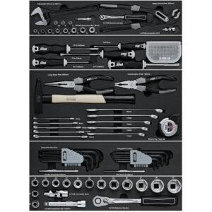 Værktøjssæt – 104 dele