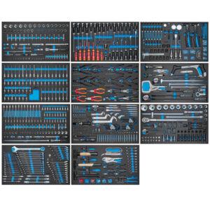 S13 MEGA Værktøjssæt – 1129 dele